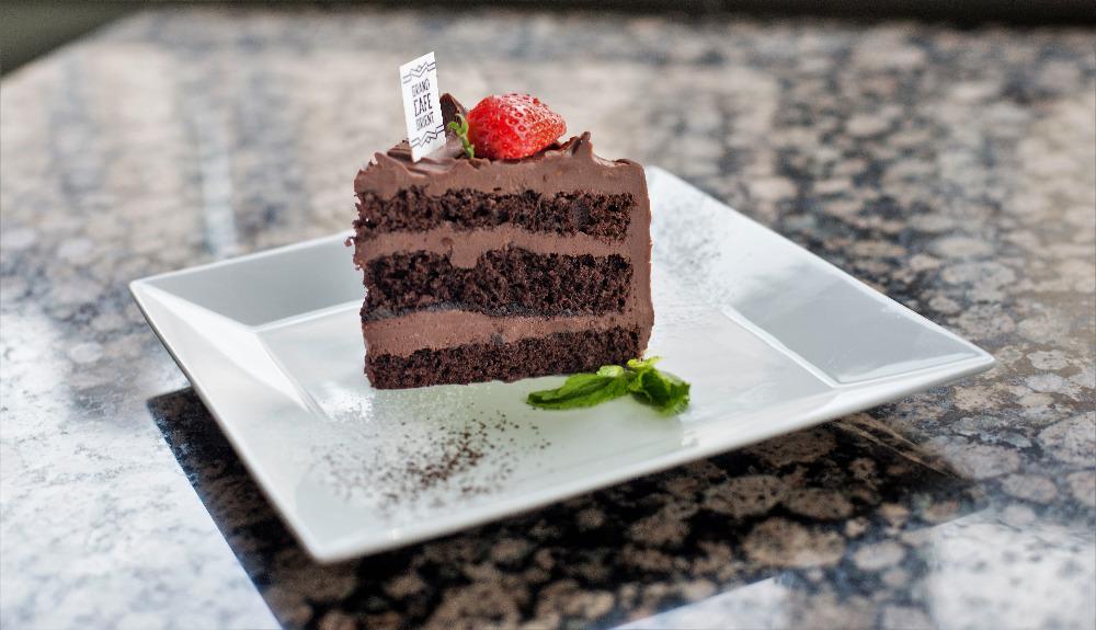 Lanýžový dort - Truffle cake