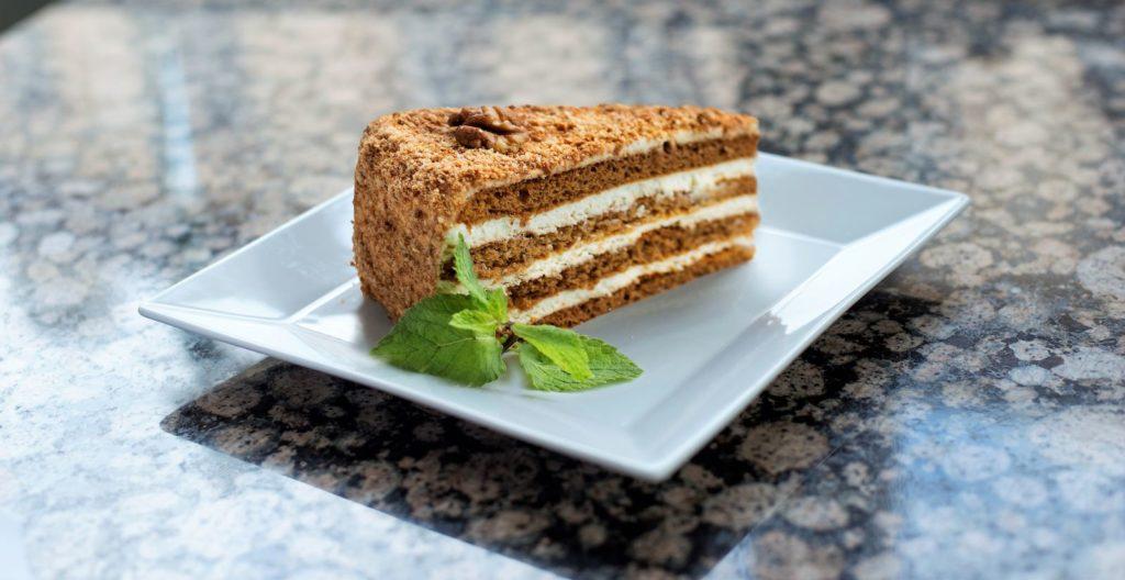 Medový dort - Honey cake